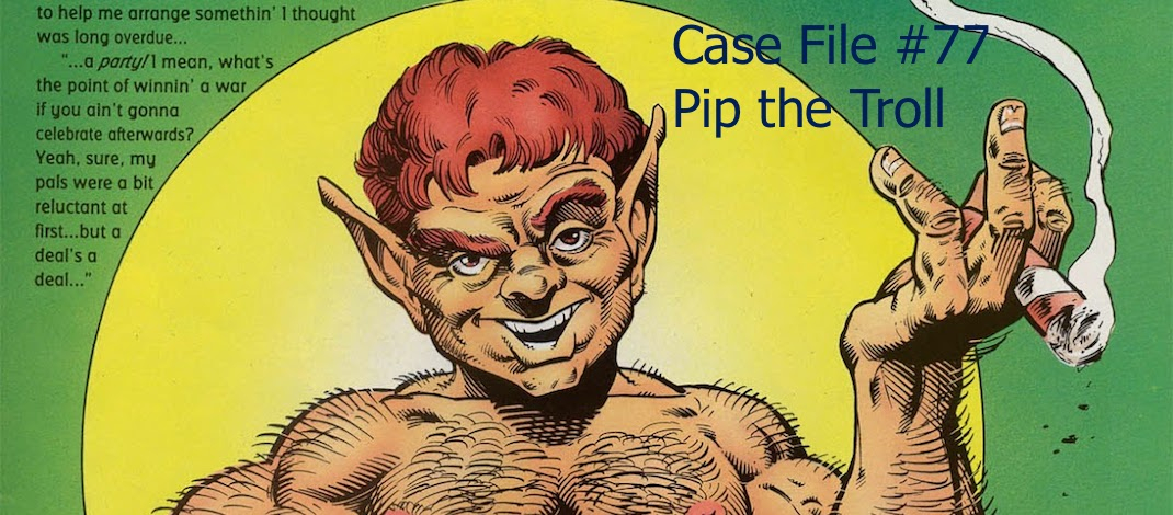 Slightly Misplaced Comic Book Heroes Case Files 77 Pip
